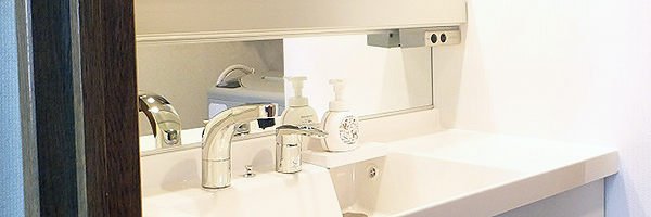 洗面所のリフォーム ふじ研究所の場所別施工事例